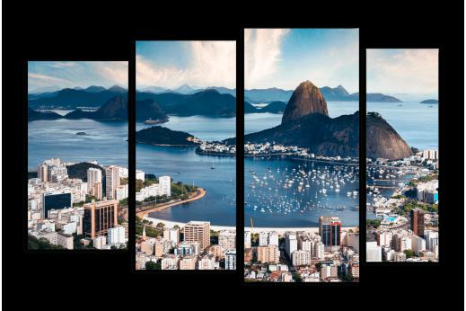 Модульная картина Красоты Рио